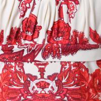 Roberto Cavalli Neck-holder top pattern