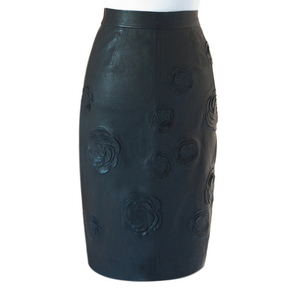 Chanel Leather skirt