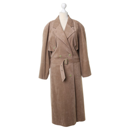 Basler Coat with velour-look