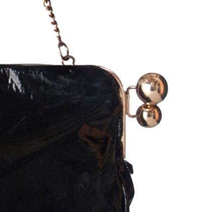 Stella McCartney Clutch in patent leather
