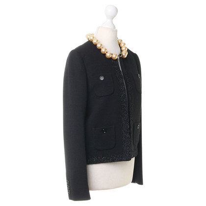 Moschino Cheap and Chic Blazer mit Perlenkette