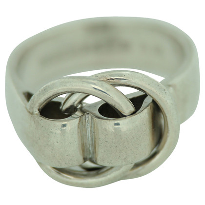 Hermès anello in argento
