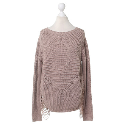 Maje Sweater with ripped effect