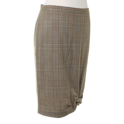 Moschino skirt in the plaid