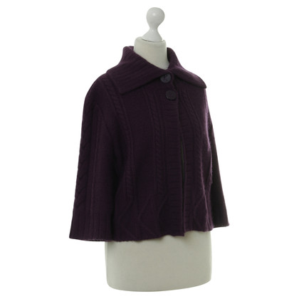 Karl Lagerfeld Strickjacke in Violett