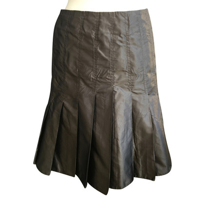 Aigner Silk pleated skirt