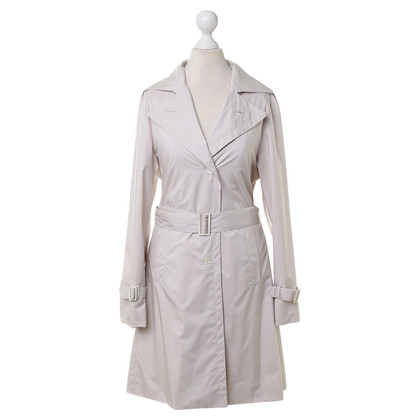 Loro Piana Trenchcoat in Creme