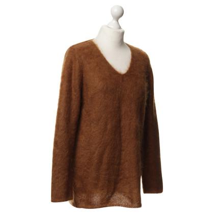Luisa Cerano Sweater in rust brown