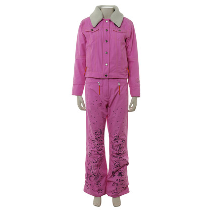 JC de Castelbajac Snow suit in neon pink
