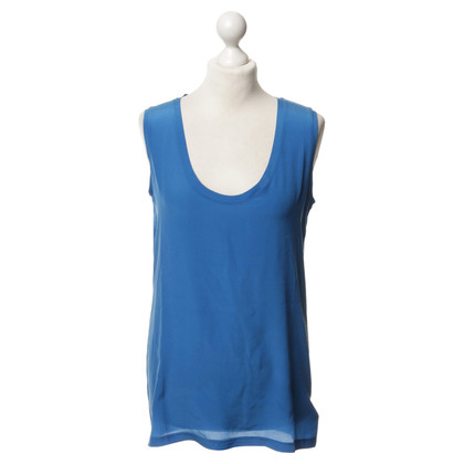Victoria Beckham Top in Azurblau