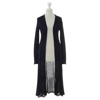 Ralph Lauren Knitted coat in blue