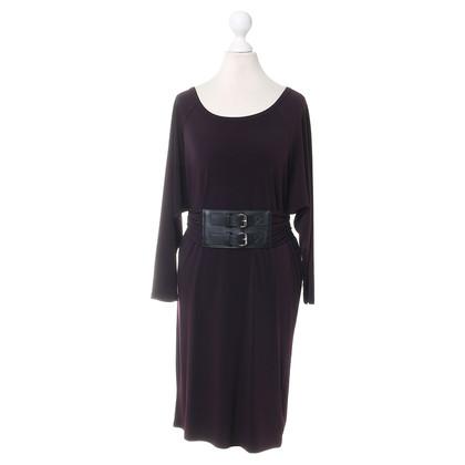 Michael Kors Kleid in Aubergine