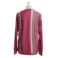 Versace Pullover mit Effektfäden
