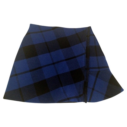 Sandro Asymmetrical pleated skirt