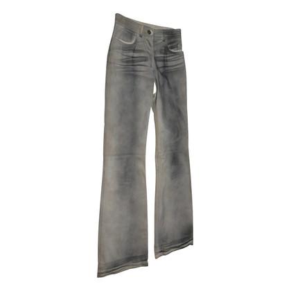 DKNY pantaloni in pelle