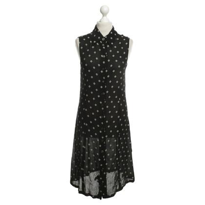 Ann Demeulemeester Kleid mit Muster