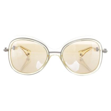 Moncler Semi-transparente Sonnenbrille