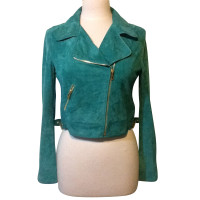 Blumarine Jacket made of suede
