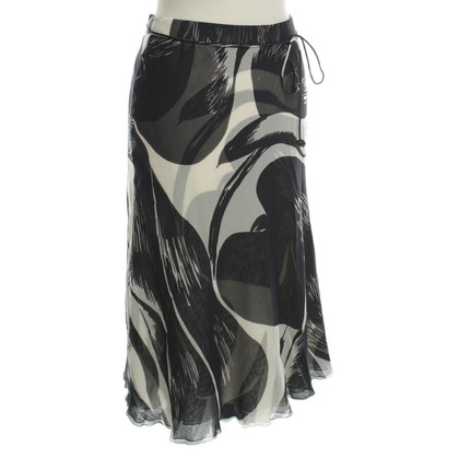 Rena Lange Silk skirt in bicolor