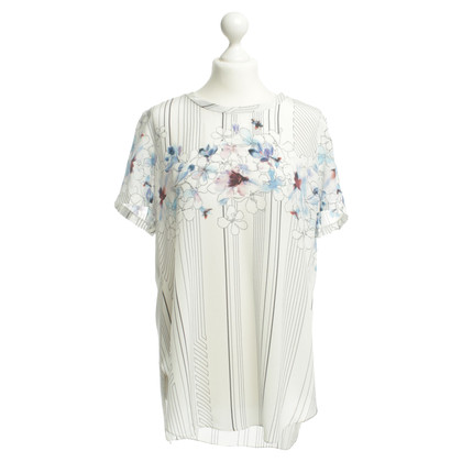 3.1 Phillip Lim Silk blouse with patterns