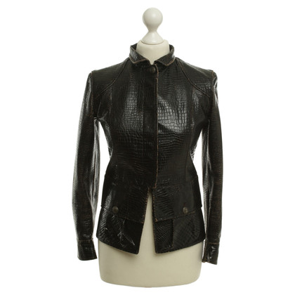 Chanel Jacket in reptile look