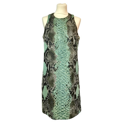 Gucci Kleid mit Pythonmuster-Einwebung