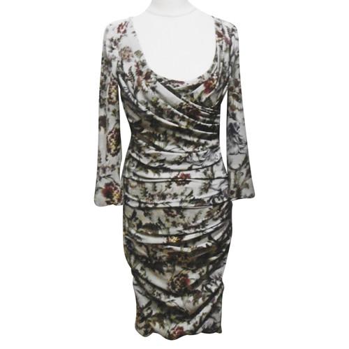 5443bd7c Dolce & Gabbana Dress Silk in Grey - Second Hand Dolce & Gabbana ...