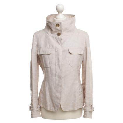 Max Mara giacca di lino in grigio