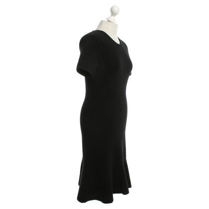 Balenciaga Abito in nero con peplum