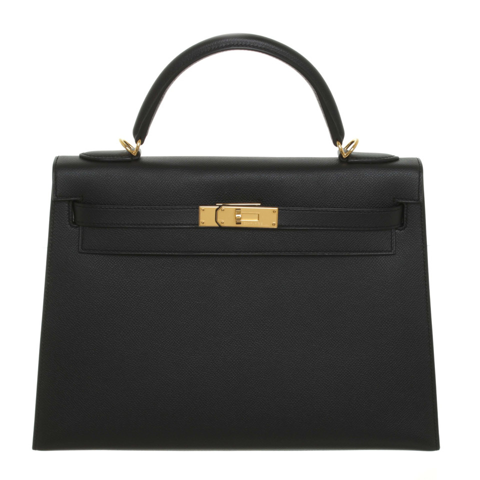 "Hermès ""Kelly Bag 32"" in Schwarz"