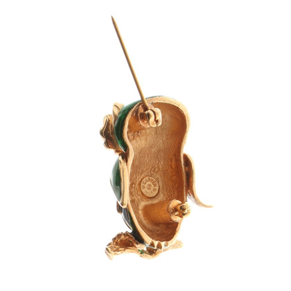 Carven In broche uil vorm