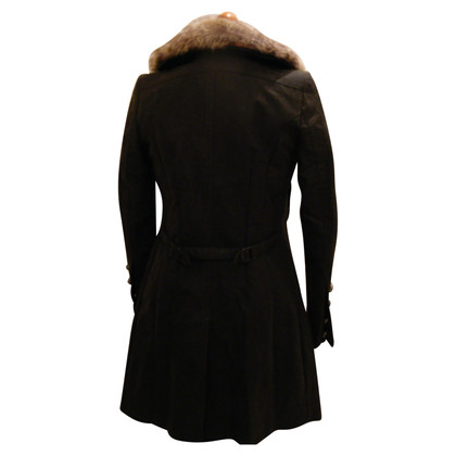 Drykorn Coat with fur collar