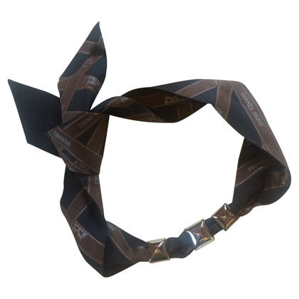 Hermès Hermes silk ribbon with 3 accessories