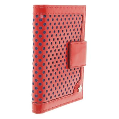Fendi Wallet in rood / blauw