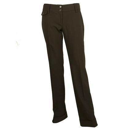 Dolce & Gabbana Black wool pants
