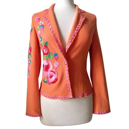 Blumarine giacca ricamata