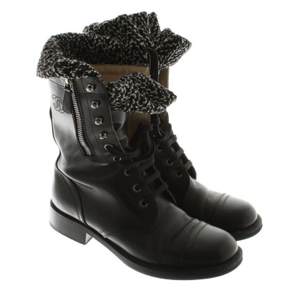 Chanel Boots in zwart