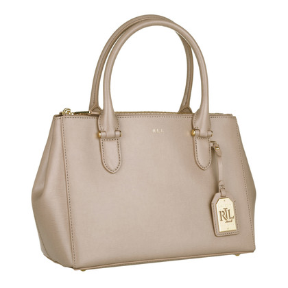 Ralph Lauren Double Zip Shopper Porcini