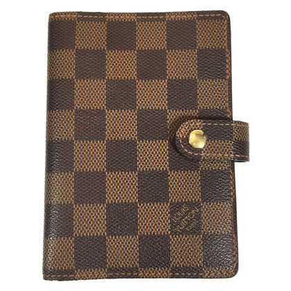 "Louis Vuitton ""Agenda Fonctionnel PM Damier Ebene Canvas"""