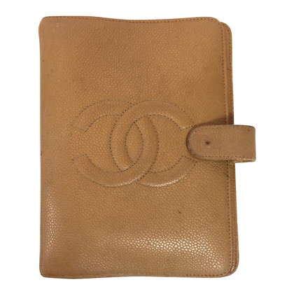 Chanel Agenda from caviar leather