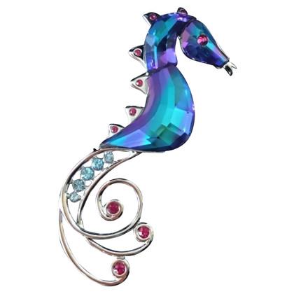 Swarovski SWAROVSKI Seahorse brooch 'CELAYA'