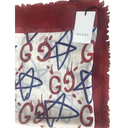 Gucci New ghost ghoul shawl collection