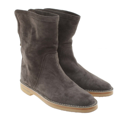 Jimmy Choo Wild leather boots in taupe