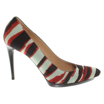 Balenciaga pumps in zebra look