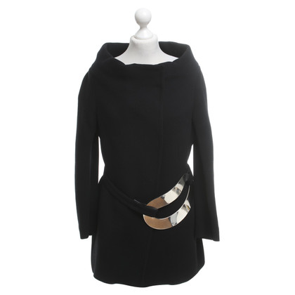 Donna Karan Wool coat in black