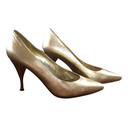 Casadei Color oro pumps