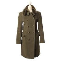 Hugo Boss Olive coat