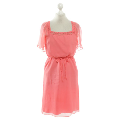 Hoss Intropia Summer dress in coral red