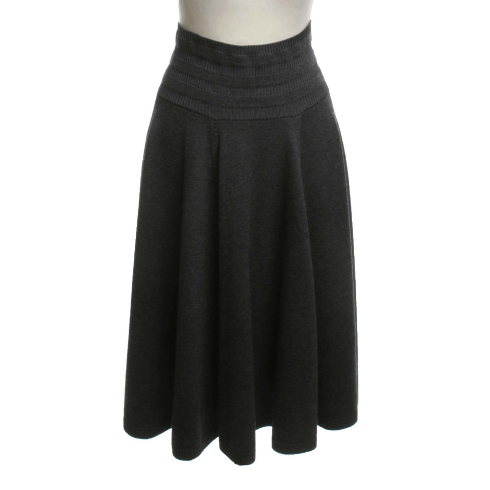 Kenzo Knit skirt in gray