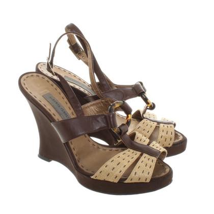Alberta Ferretti Sandals in brown